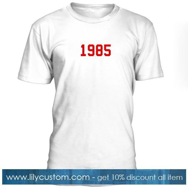 1985 Font Tshirt