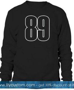 89 font sweatshirt