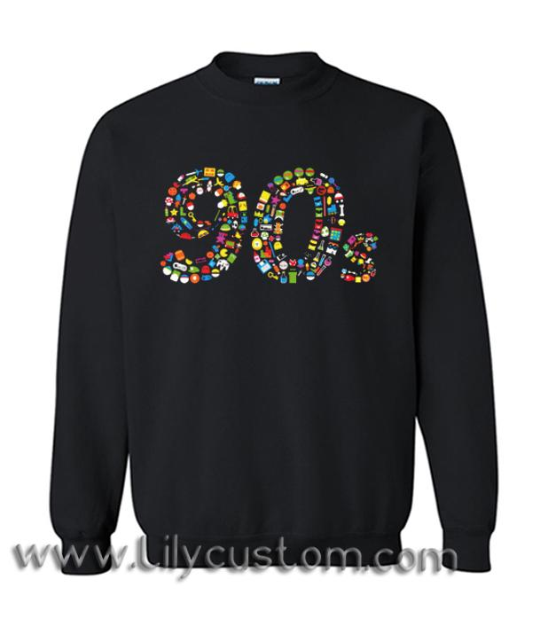 90s Kid Sweatshirt (LIM)