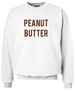 A mustard peanut butter sweatshirt