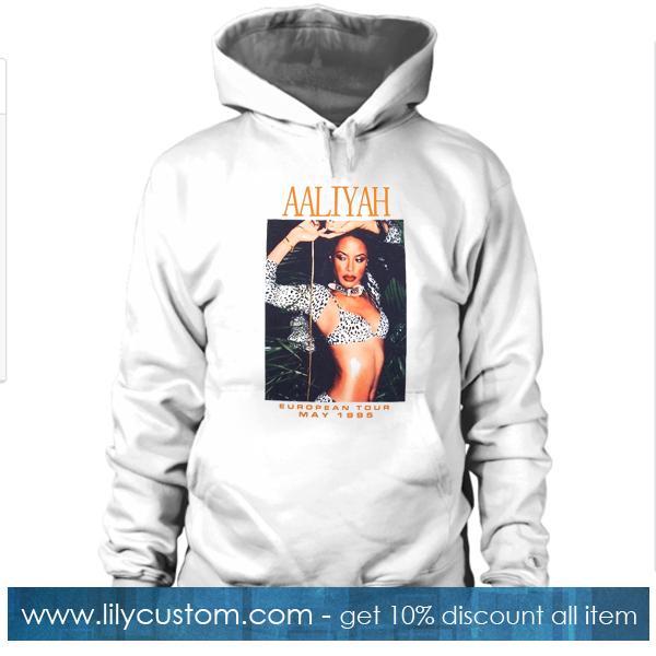 Aaliyah European Tour 1995 Hoodie