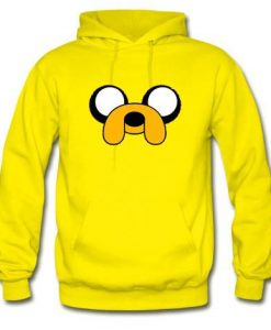 Adventure time jake face Hoodie