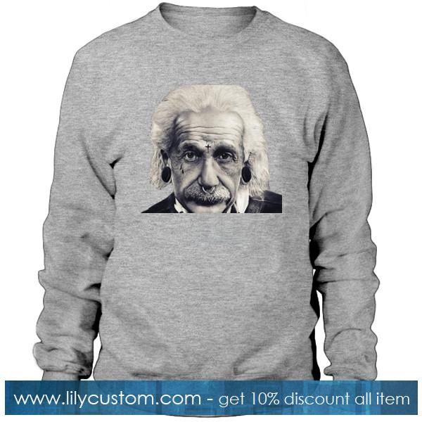 Albert Einstein Rock N Roll Sweatshirt