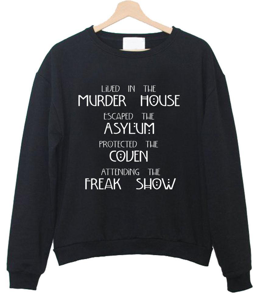 American Horror Story Four Seasons sweatshirt
