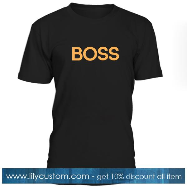 Boss Font Tshirt