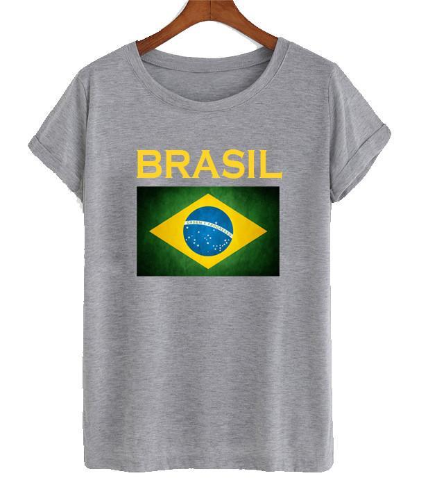 Brasil flag tshirt