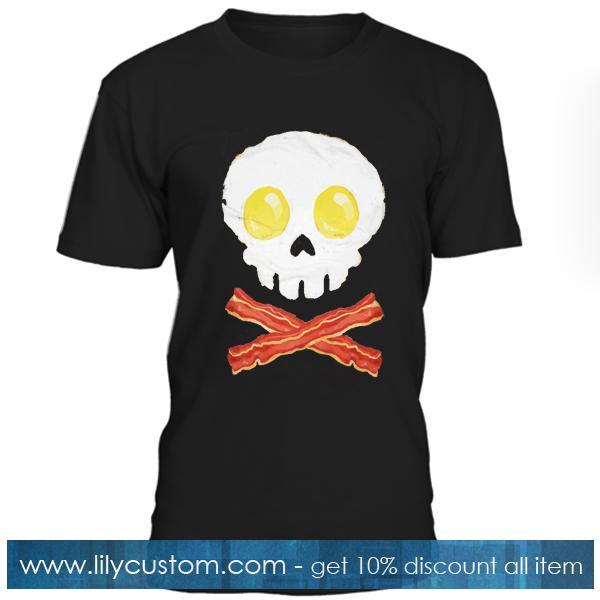 Eggs Skull n Bacon T Shirt