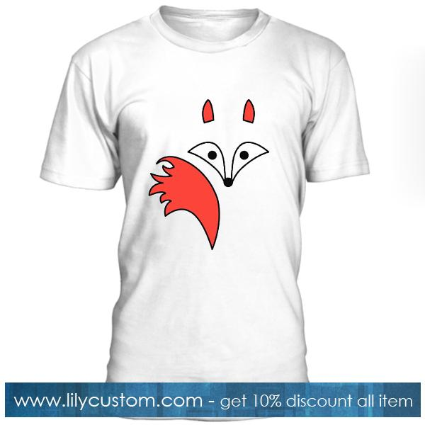 Fox Tail Cartoon T Shirt