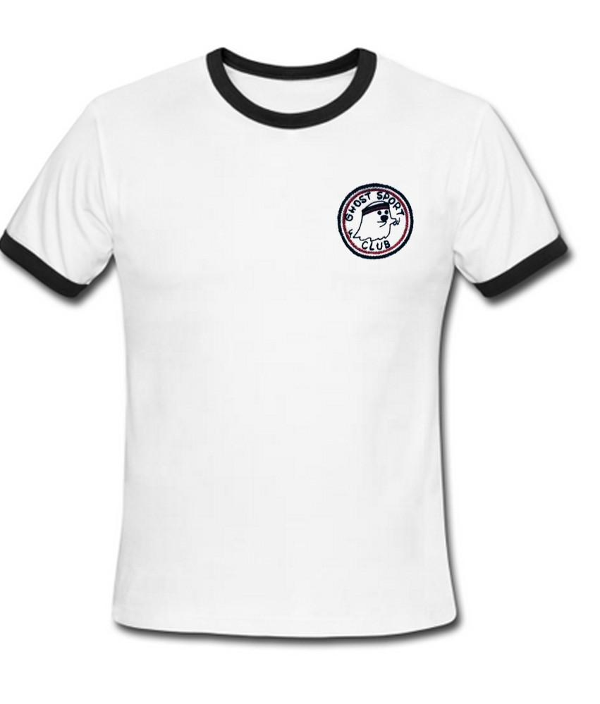 Ghost Sports ringer t shirt