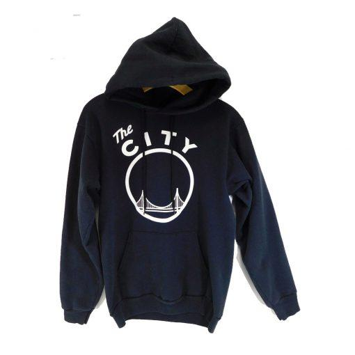 Golden State Warriors The City Black Pullover Hoodie