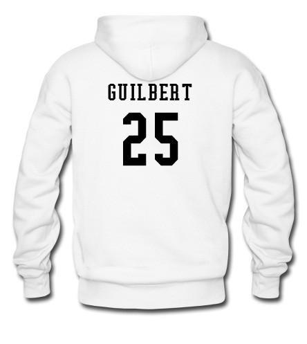 Guilbert 25 hoodie back
