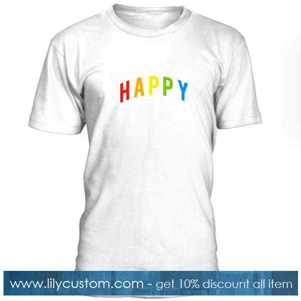 Happy Colour T Shirt