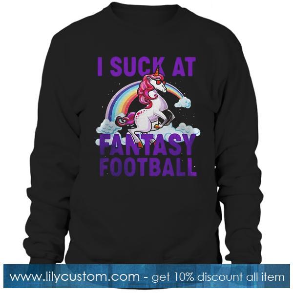 I suck at fantasy football Hoodie
