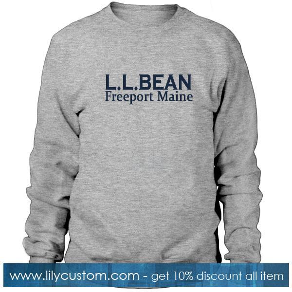 LL BEAN Sweatshirt