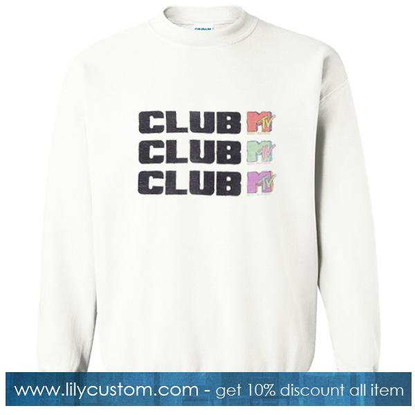 MTV  Club Sweatshirt