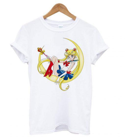 Manga anime Sailor Moon T shirt
