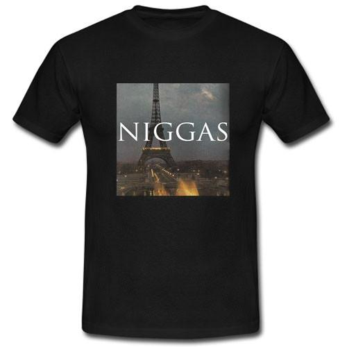 Niggas in Paris T shirt