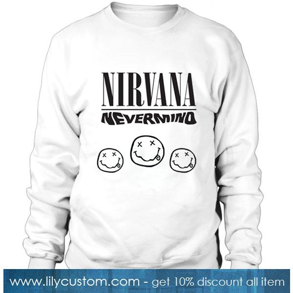 Nirvana Nevermind Sweatshirt