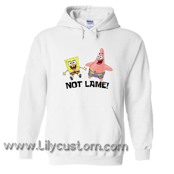 Not lame Spongebob and Patrick Hoodie (LIM)