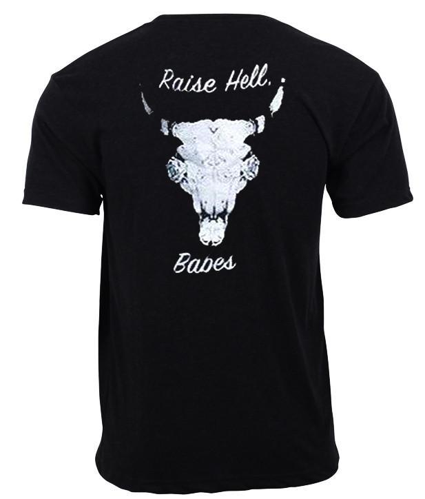 Raise Hell Babes T shirt Back