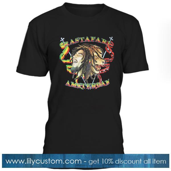 Rastafari Amsterdam T-shirt
