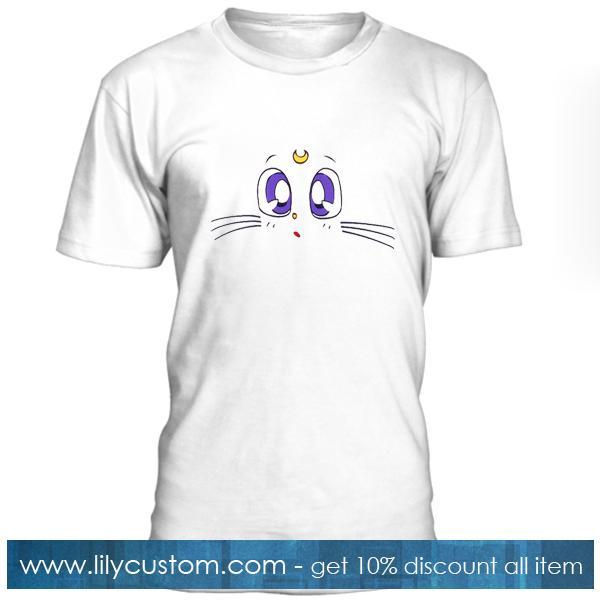 Sailor Moon Cat Tshirt