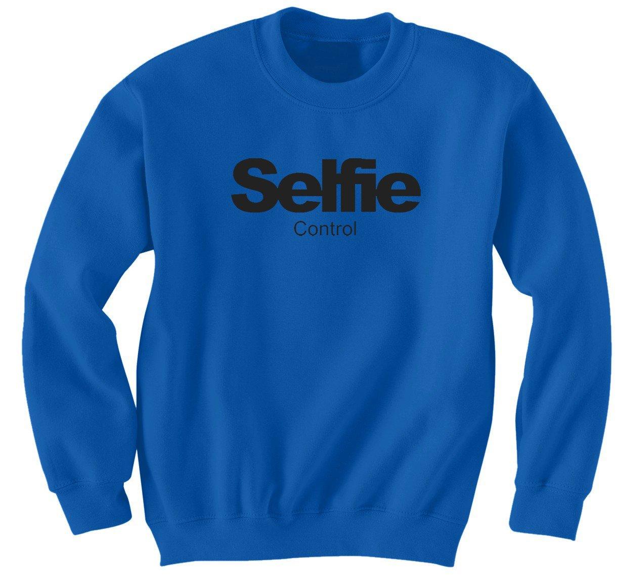 Selfie control sweatshirt