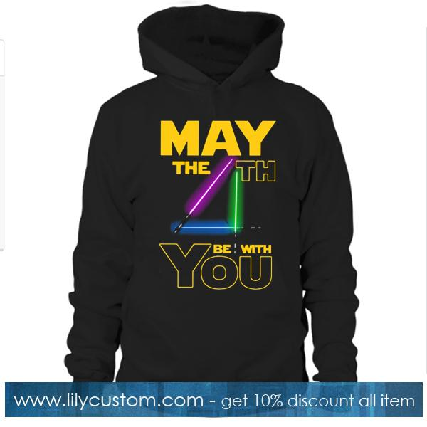 Star Wars May 4th Be With You Hoodie