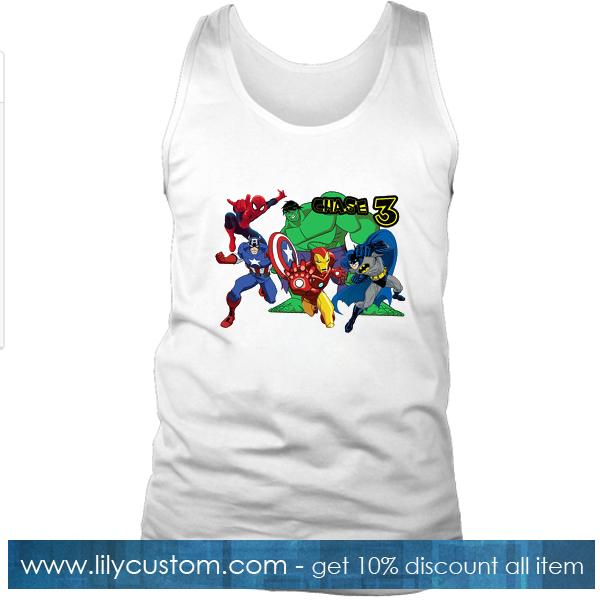 Super heroes Avangers Marvel Tank Top