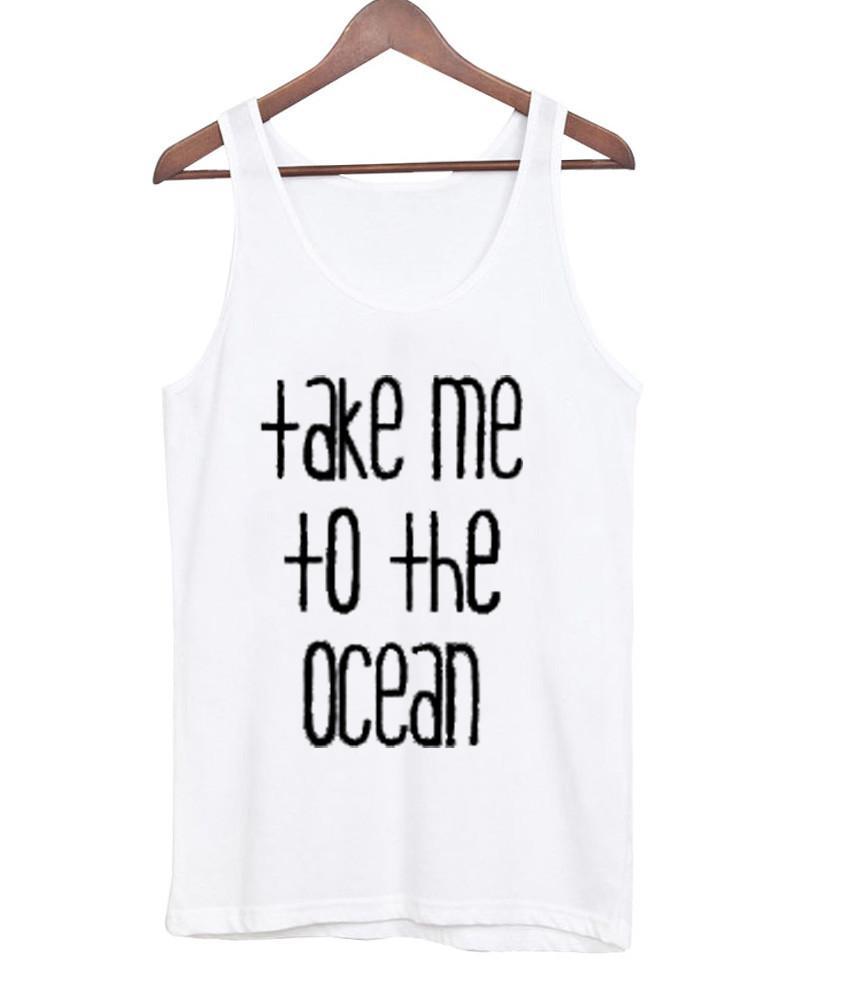 Take me to the ocean tanktop