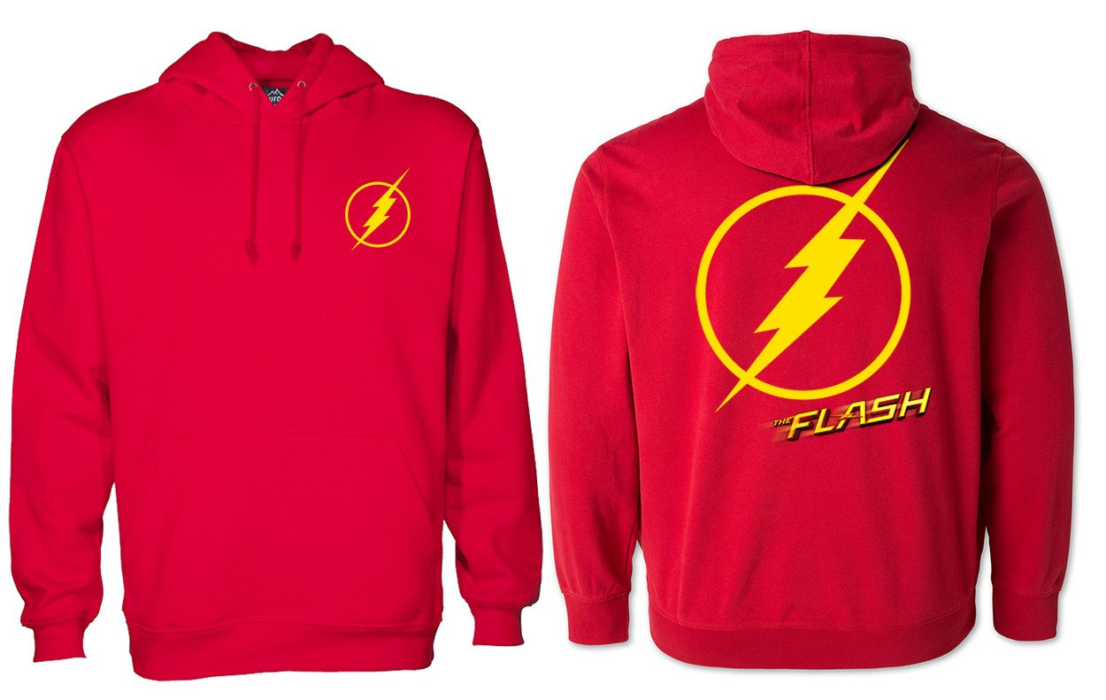 The flash hoodie two side