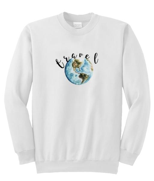 Travel Globe Sweatshirt  SU