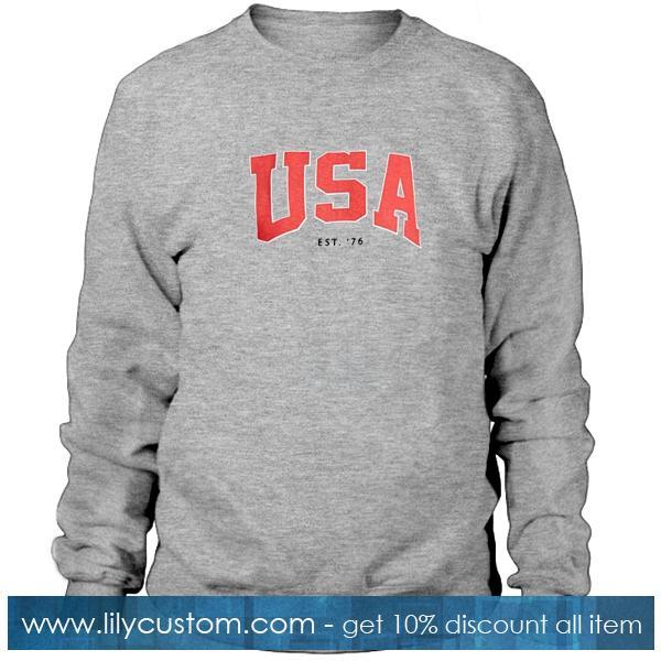 USA Est 76 Sweatshirt