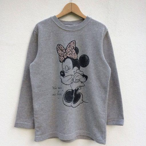 Vintage Minnie Mouse You Make Me Laugh Sweatshirt