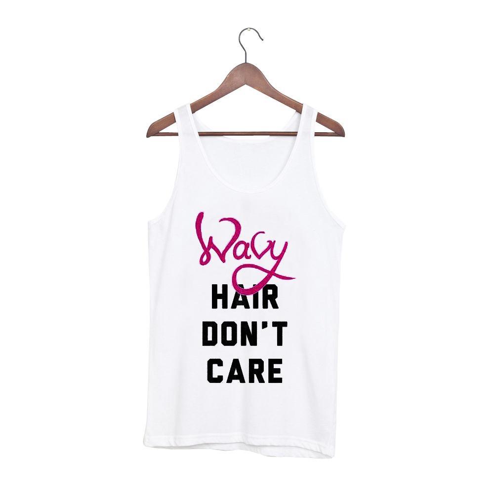 Wavy hair don't care tanktop