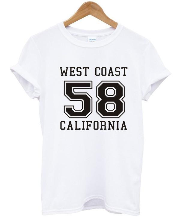 West coast 58 california shirt