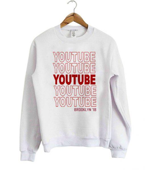 Youtube Brooklyn 18 Sweatshirt Ez025