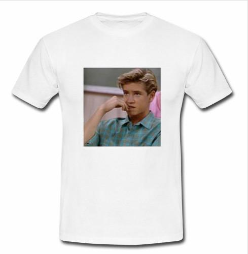 Zack morris saved by the bell T shirt
