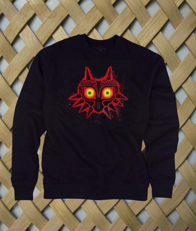 Zelda Majora Mask sweatshirt