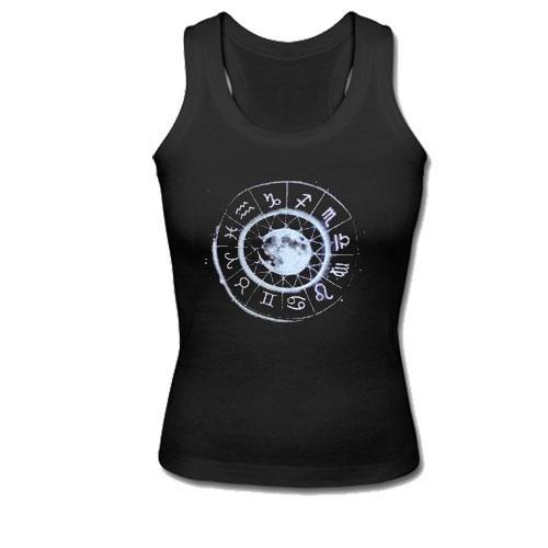 Zodiac Moon Tank Top  SU