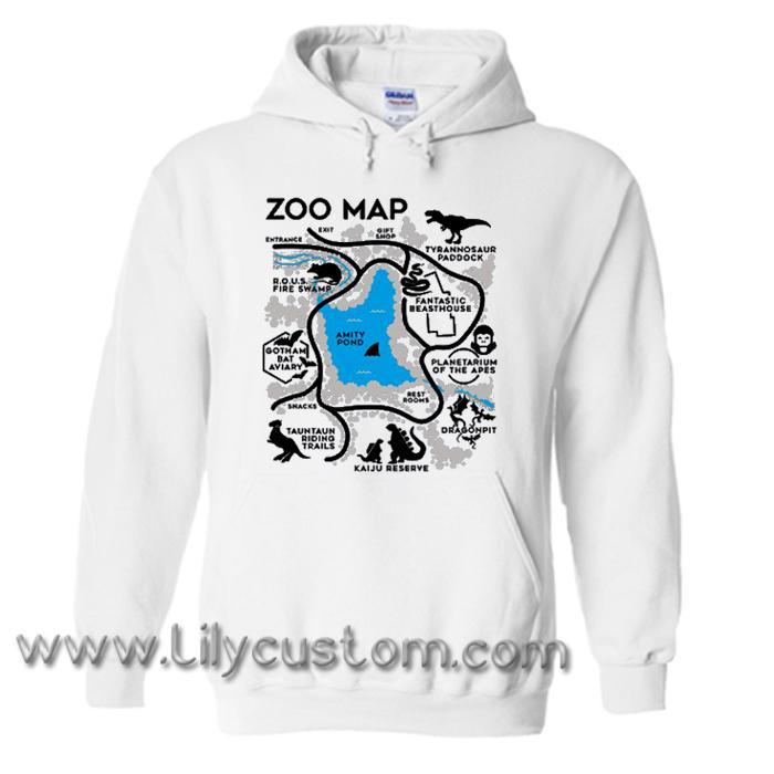 Zoo Map Hoodie (LIM)