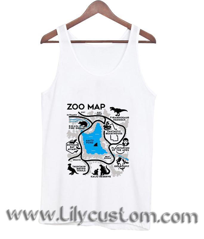 Zoo Map TankTop (LIM)