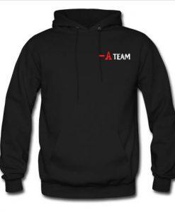 a team hoodie