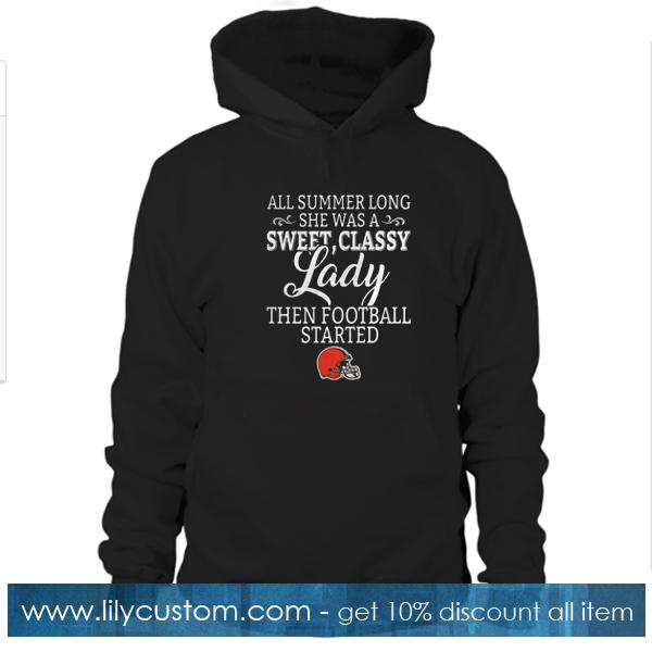 all summer long she was a sweet classy lady Hoodie