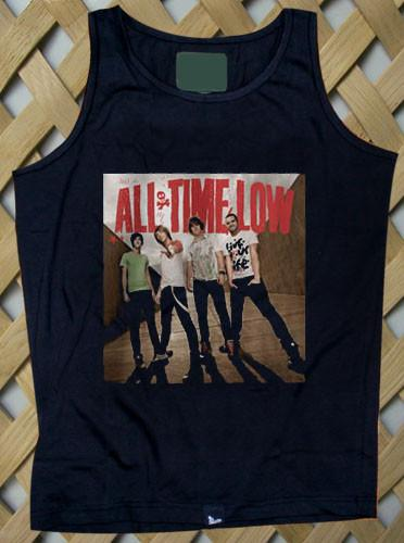 all time low band Tank top