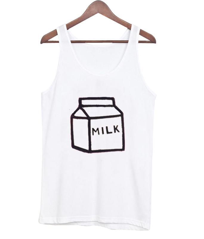 box milk tanktop