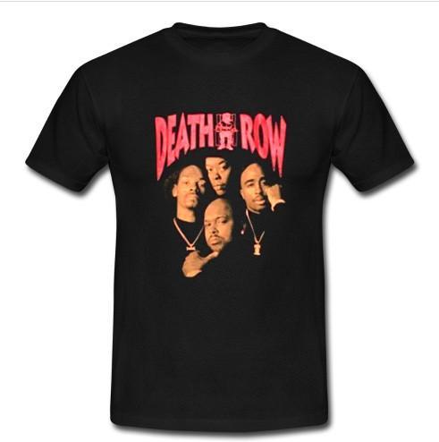 death row t shirt