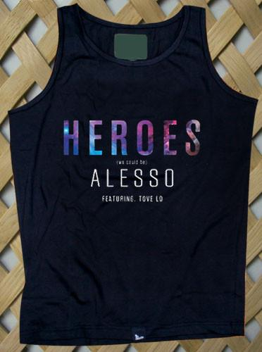heroes alesso album cover Tank top