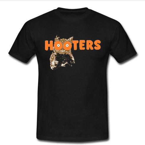 hooters t shirt