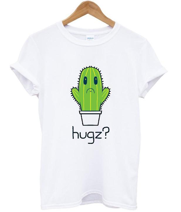 hugs cactus t shirt